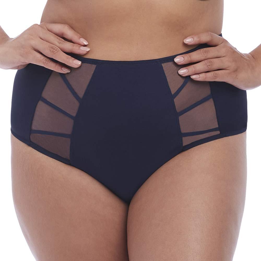 Elomi Sachi Briefs Knickers Fuller Cover Panties EL4358 Black Various Sizes New