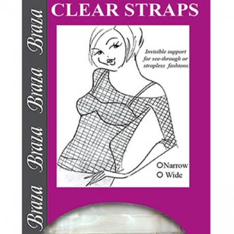 Clear Straps-Wide