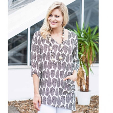 Size 16/18 Woven Tunic Top