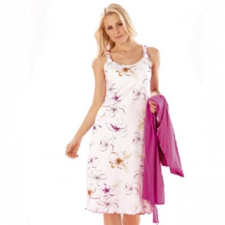 Size 26 Thin Strap Cotton Lily Nightdress