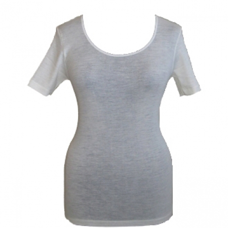 Picot Short Sleeve Vest