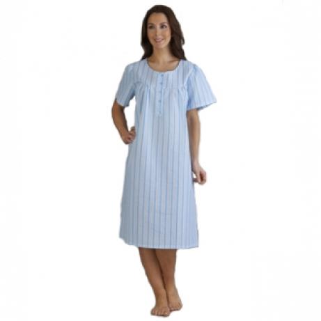 Stripe Sleeveless Nightdress