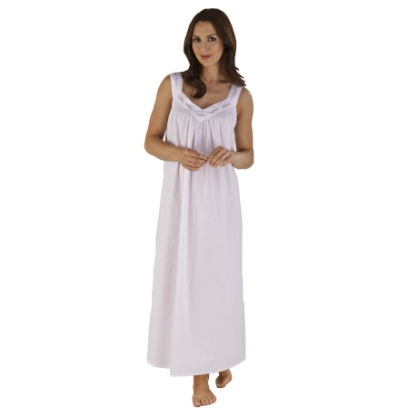 Elegant Sleeveless Nightdress