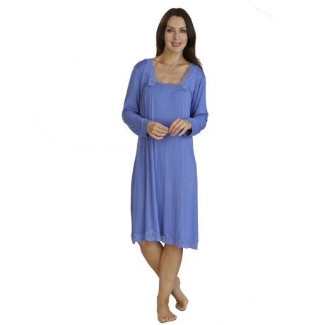 Jersey Long Sleeve Nightdress
