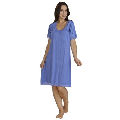 Jersey Short Sleeve Nightdress