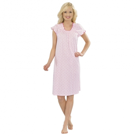 New Spirit Cap Sleeve Nightie Nightwear