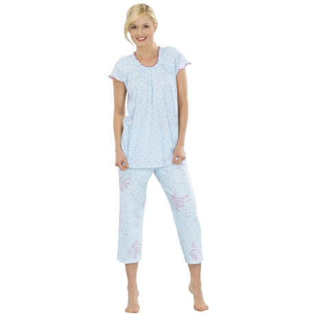 New Spirit Cropped PJ Set