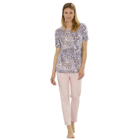Modern Line Short Sleeve Pyjama Set