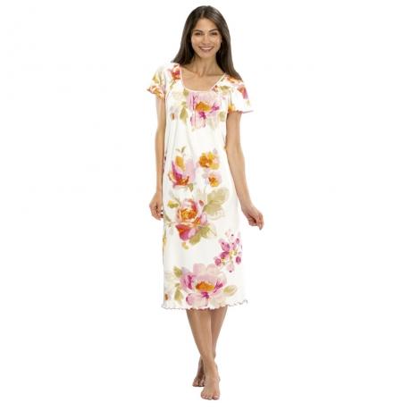 Modern Line Cap sleeve Nightdress