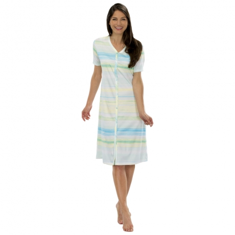 Classic Chic Button Front Nightdress