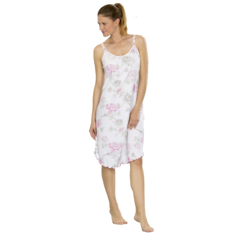 Classic Chic Knee-Length Nightdress