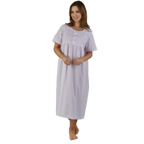 BOGOF Cotton Short Sleeve Nightdress