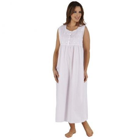 100% Cotton Sleeveless Nightdress