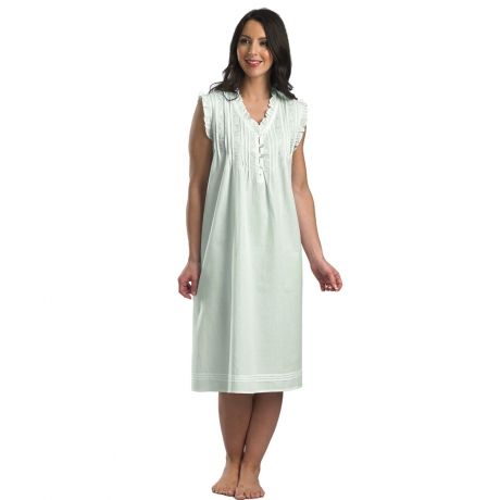 Pure Cotton Sleeveless Nightdress