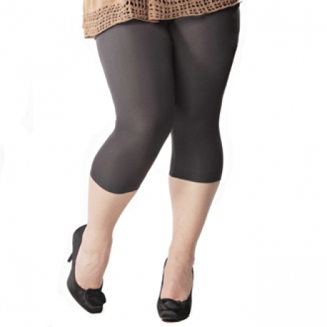 Plus Size 3/4 Length Leggings