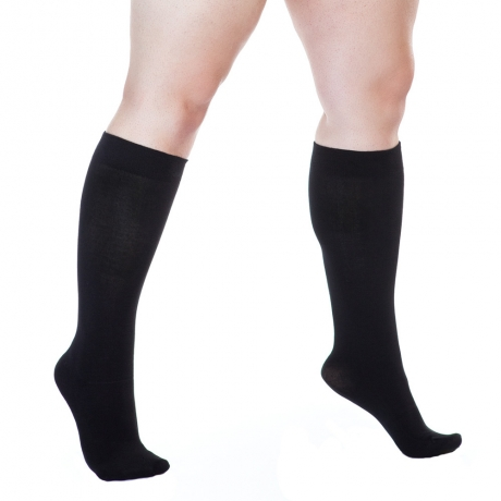 Plus Size 300 DEN Knee Socks Lida Hosiery