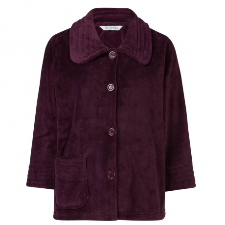 Buttoned Cosy Bed Jacket