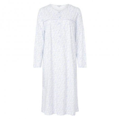 Long Sleeve 100% Cotton Nightdress
