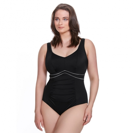 Essentials Firm Control Moulded Cups Swimsuit