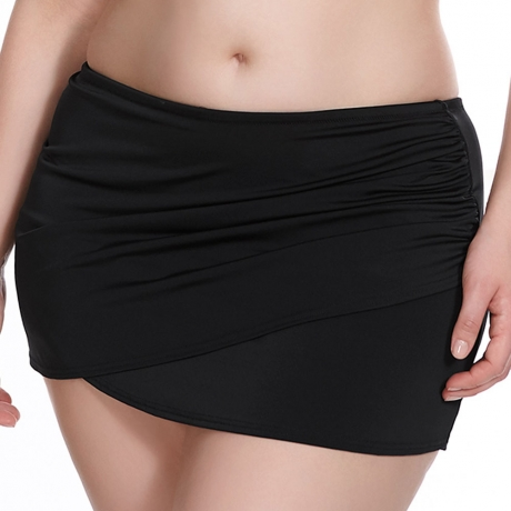 Essentials Wrap Skirted Briefs Essentials