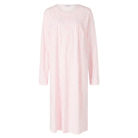 Long Sleeve 100% Cotton Nightdress