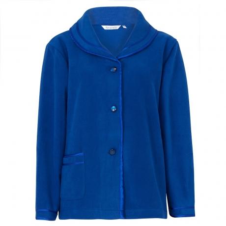 Cosy Fleecy Buttoned Bedjacket