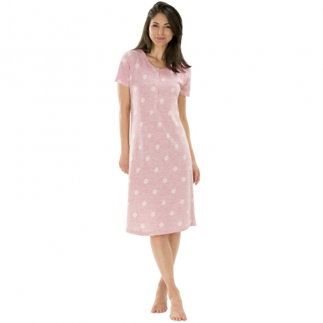 Short Sleeve Nightshirt Nightwear