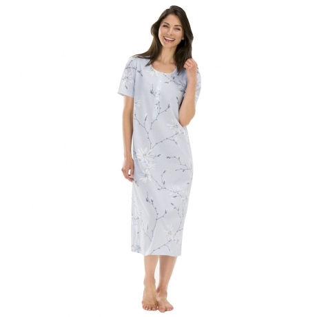 Pure Cotton Short Sleeve Nightdress Nightwear