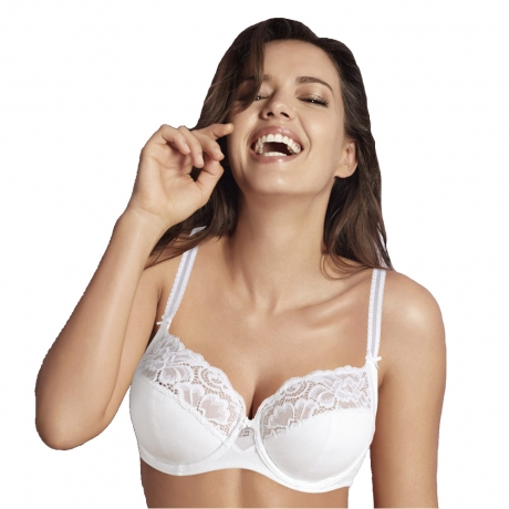 36D Cocoon Side Shaping Cotton Wired Bra