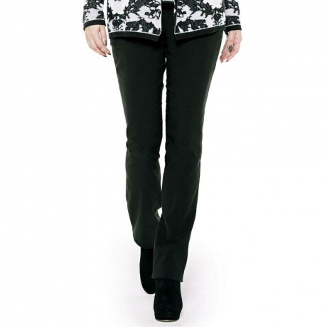 Slim Fit Full Length Trousers Doris Streich Clothes