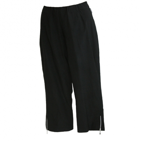 Slim Fit Cropped Trousers
