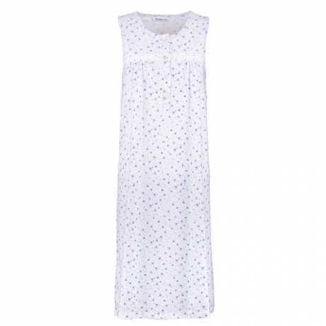 Sleeveless Jersey Nightdress