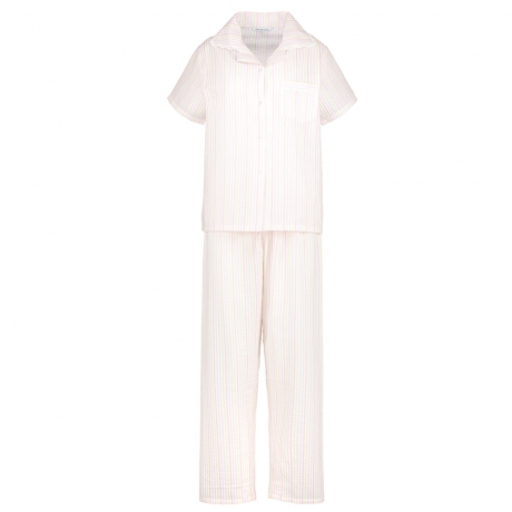 Short Sleeve Pastel Pyjama Set Nightwear