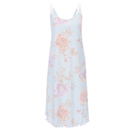 New Spirit Floral Knee-Length Strappy Nightdress