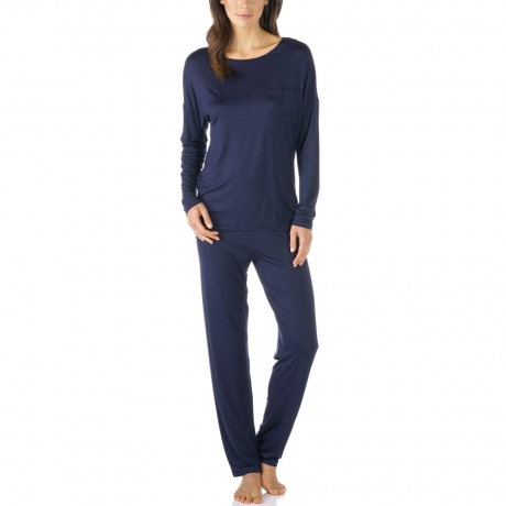 Selina Long Sleeve Full Length Modal Pyjama Set Nightwear