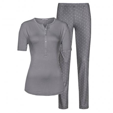 Chloe Short Sleeve Ankle Length Jersey Pyjama Set