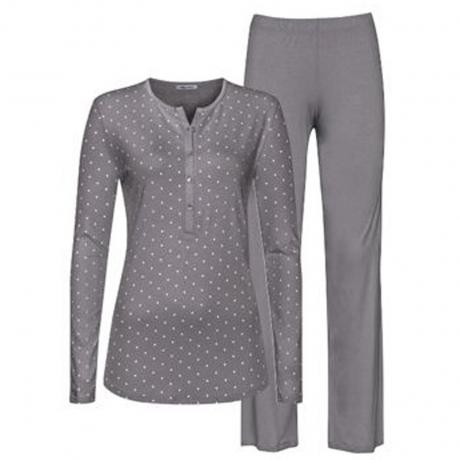 Chloe Long Sleeve Full Length Jersey Pyjama Set