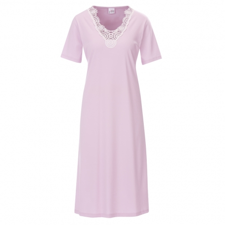 Classic Chic Short Sleeve Cotton Nightdress Nightwear