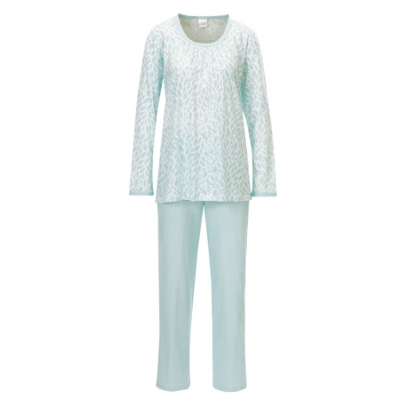 Classic Chic Long Sleeve Cotton Pyjama Set Nightwear