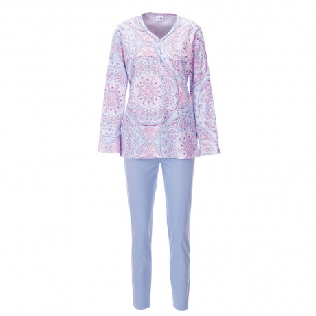 New Spirit Long Sleeve Cotton Pyjama Set Nightwear