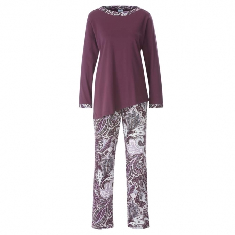 Long Sleeve Modern Pyjama Set Nightwear