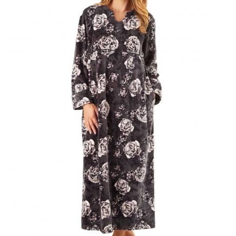 Long Sleeve Soft Fleece Kaftan