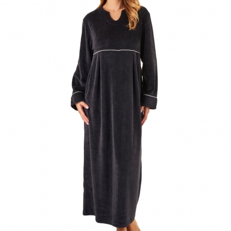 Long Sleeve Soft Fleece Kaftan