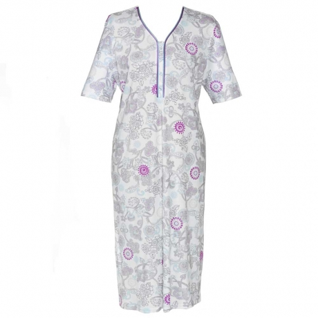 Short Sleeve Cotton Nightdress Nightwear