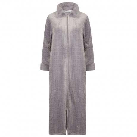 Zipped Cosy Polar Dressing Gown
