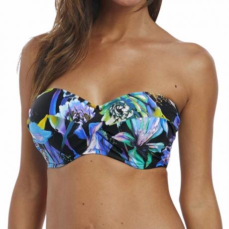 Paradise Bay Underwired Twist Front Bandeau Bikini Top