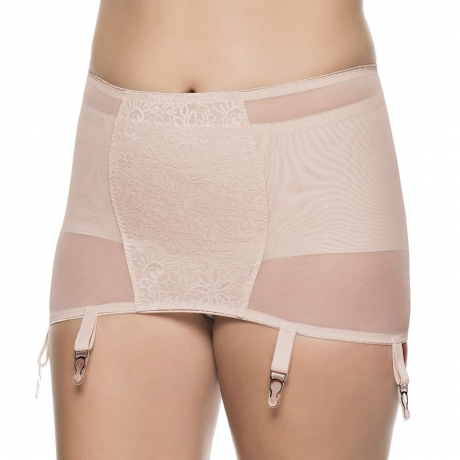 Open Panty Girdle With Suspenders