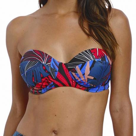 Monte Cristi Underwired Bandeau Bikini Top