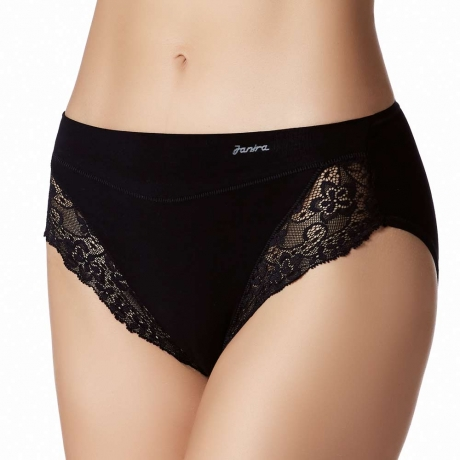 Essential Cotton & Lace Brief 2 Pack