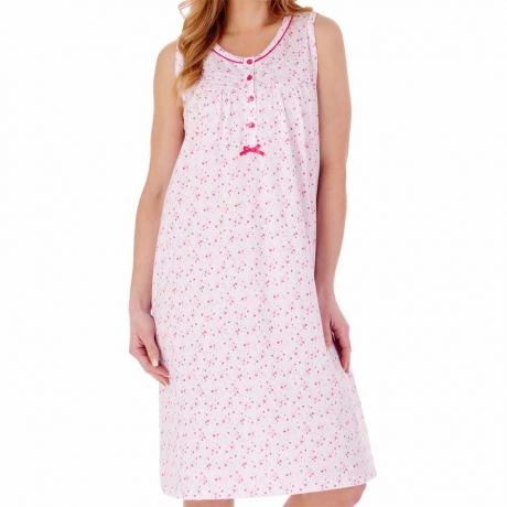 Slenderella Nightdress in pink ND77101